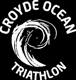 croyde ocean triathlon slim logo