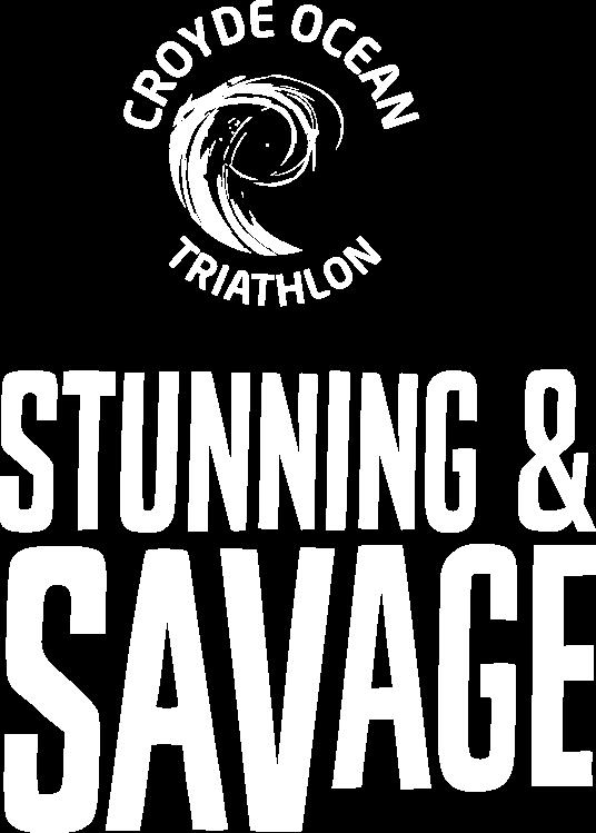The Stunning and Savage sea swim triathlon